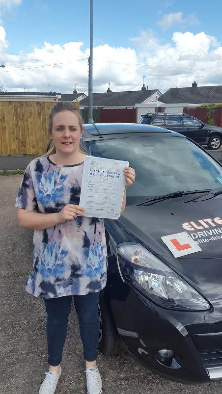This is Sarah Fitzpatrick who took her driving lessons in Hull