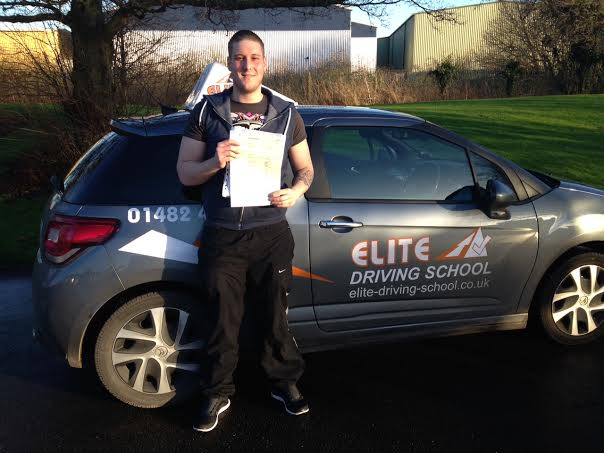 This is Andrea Perricone who took his driving lessons in Hull