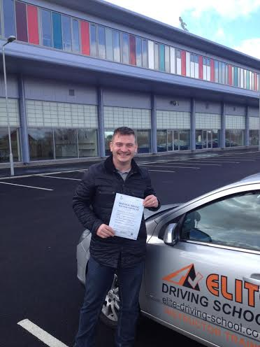 This is Andrew Cane who took his driving lessons in Hull