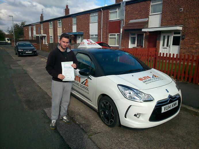 This is Ryan Peck who took his driving lessons in York