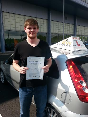 This is Ryan Wood who took his driving lessons in Hull