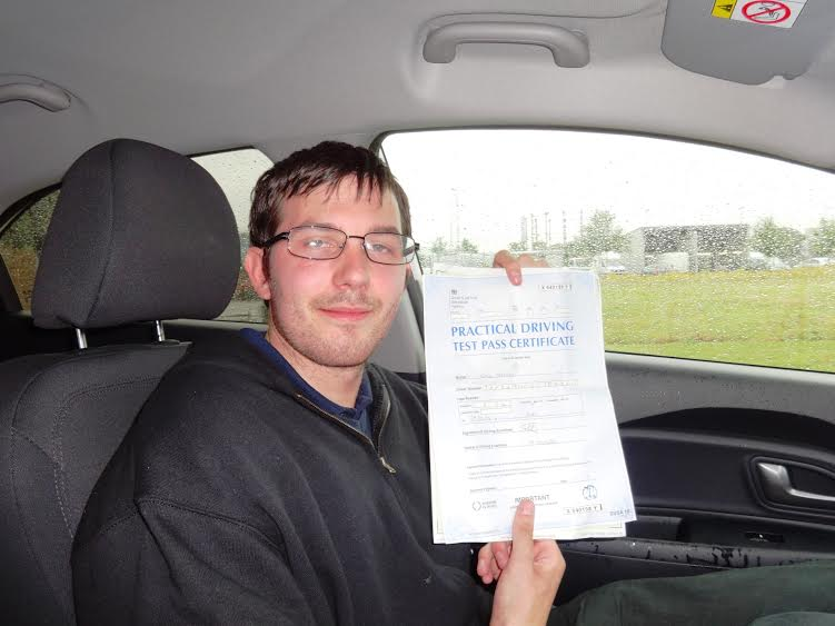 This is Simon Jeffery who took his driving lessons in York