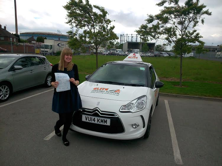 This is Stacie Brady who took her driving lessons in York