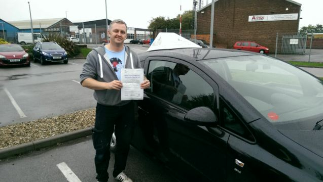 This is Tony Lawson who took his driving lessons in York