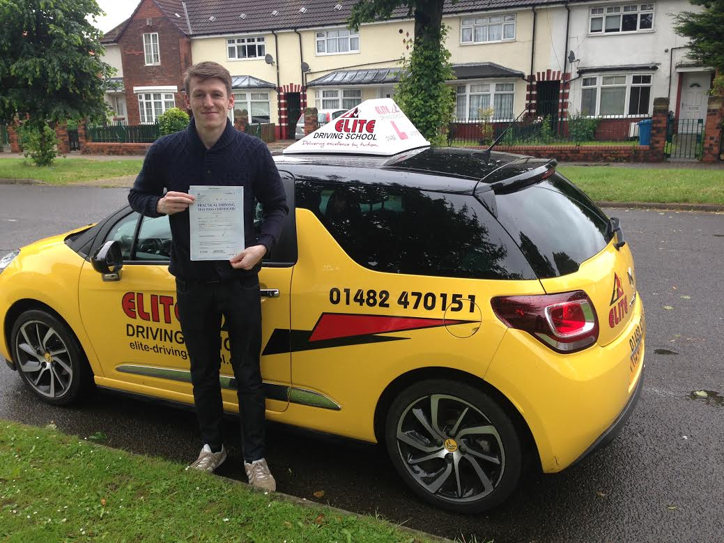 Driving Lessons Hull, Ryan Wigley