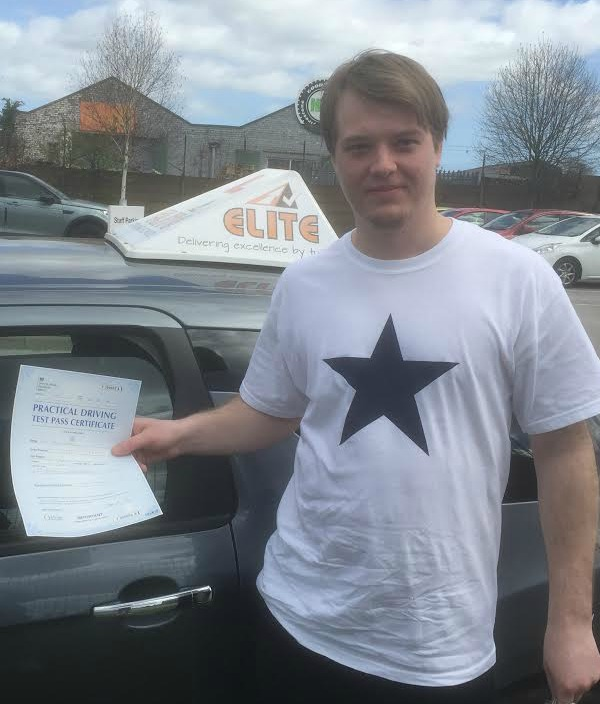 This is Tony Fisher who took his driving lessons in York