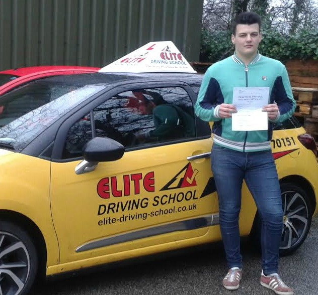 This is Ryan Fox who took his driving lessons in York