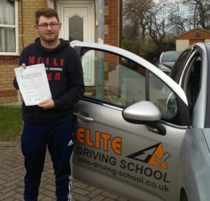 This is George Hastie who took his driving lessons in York