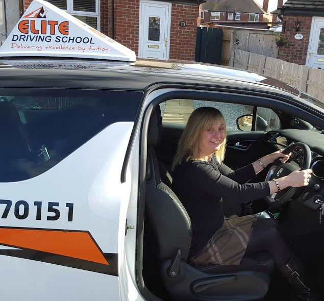 This is Davina Johnson who took her driving lessons in Hull