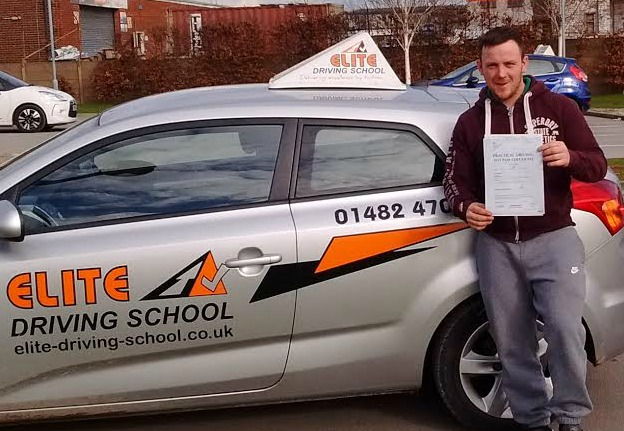 This is Lee Stringer who took his driving lessons in Hull