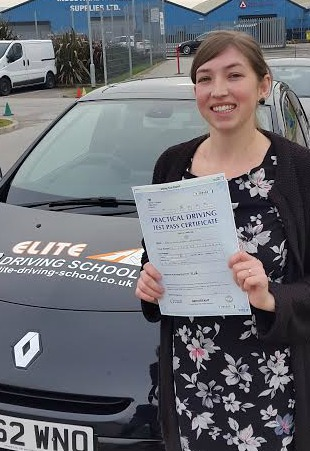 This is Nicola Blanchard who took her driving lessons in York