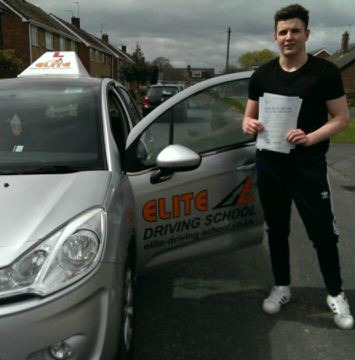 This is Bailey Pearson who took his driving lessons in Hull