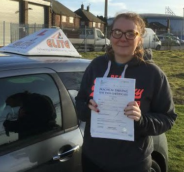This is Jemma Brindle who took her driving lessons in York