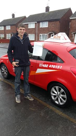 This is Chris French who took his driving lessons in York