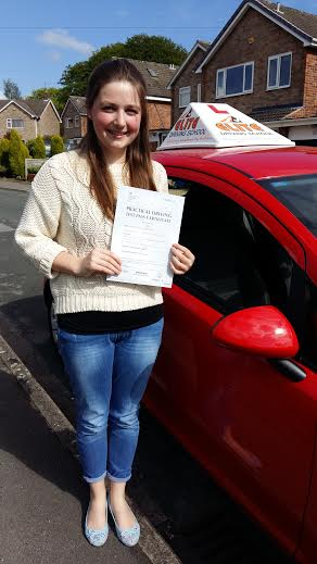 This is Rebecca Hull who took her driving lessons in York