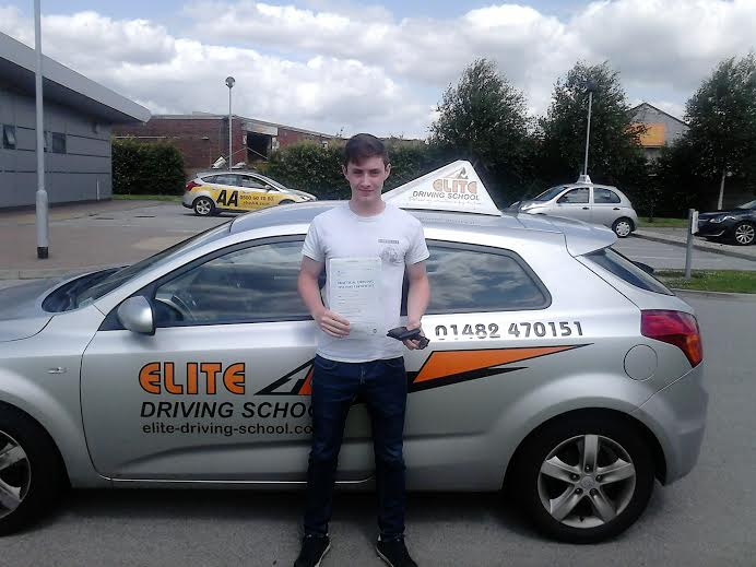 This is Caradoc Jones who took his driving lessons in York