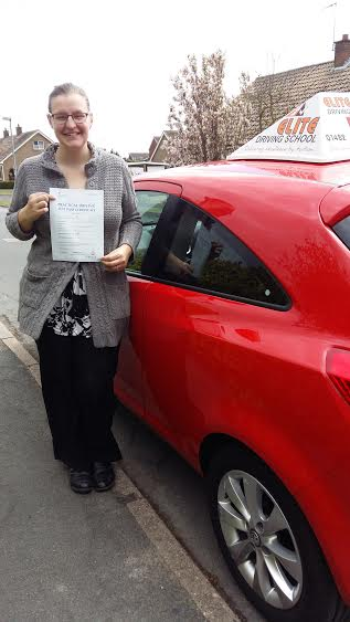 This is Sherri Pennock who took her driving lessons in Hull