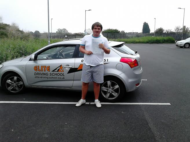 This is Ben Ducker who took his driving lessons in York