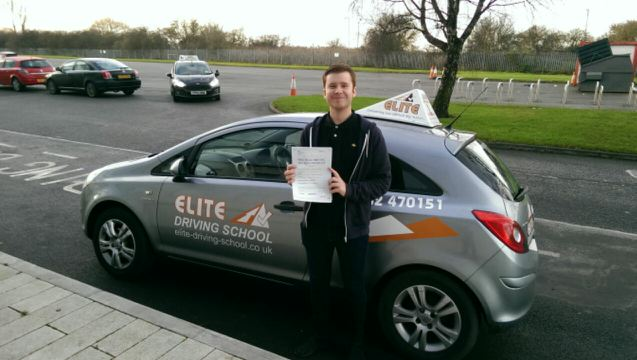 This is Chris Dickinson who took his driving lessons in Hull