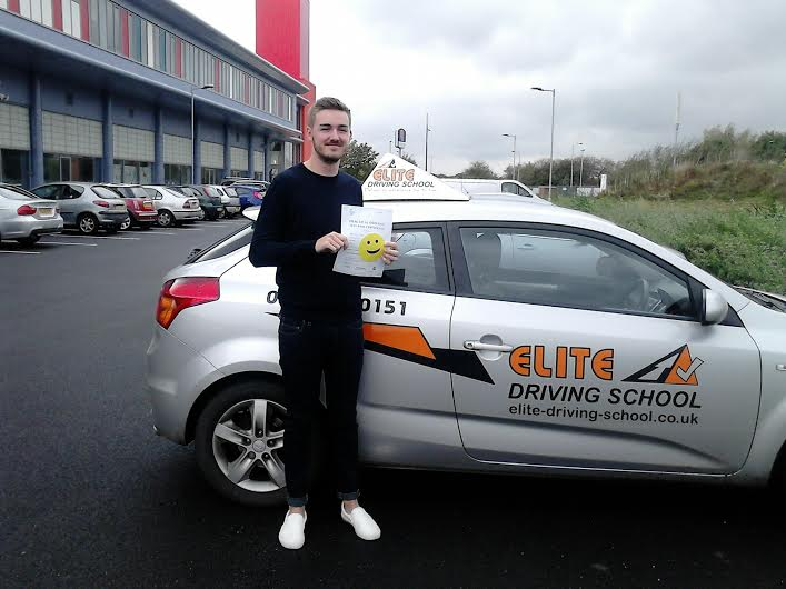 This is Lloyd Whittleton who took his driving lessons in York