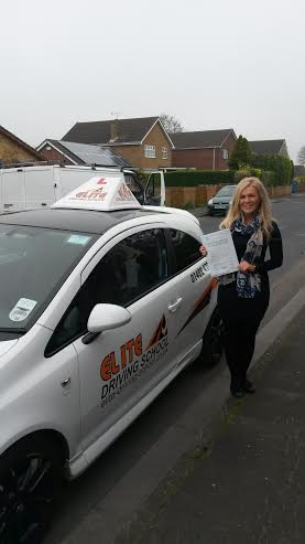 This is Lucy McCann who took her driving lessons in Hull