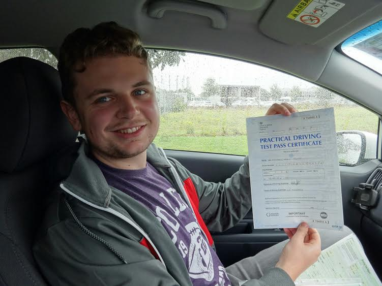 This is Matthew Foletti who took his driving lessons in York