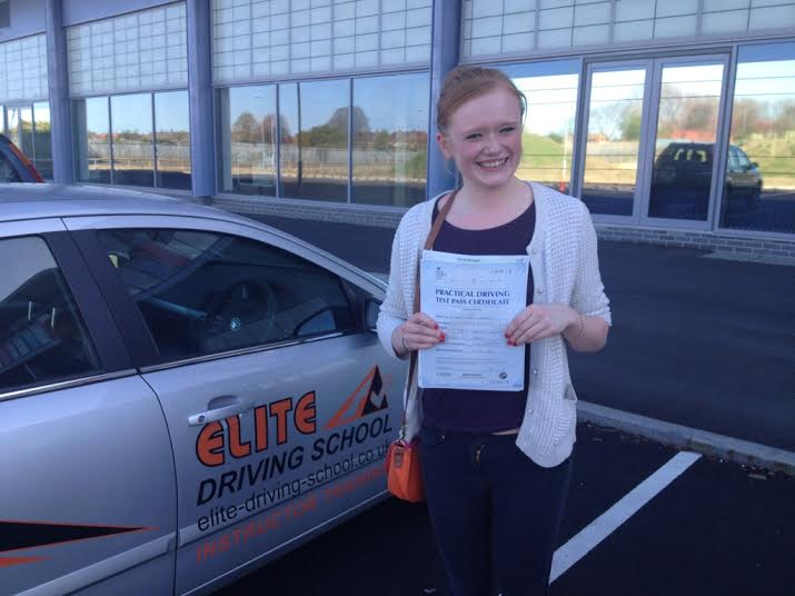 This is Rachel Meager who took her driving lessons in Hull