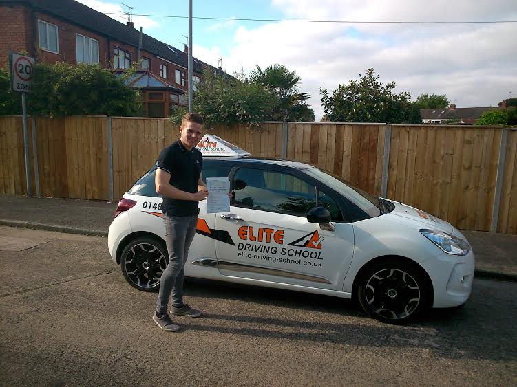 This is Stephen Hardy who took his driving lessons in Hull