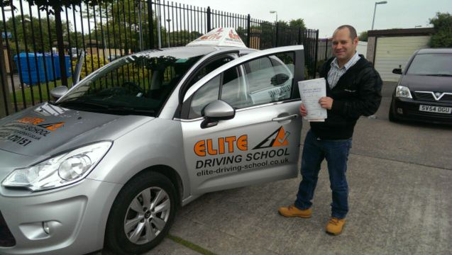 This is Chris Temple who took his driving lessons in York