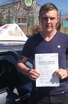 This is Daniel Tripp who took his driving lessons in Hull