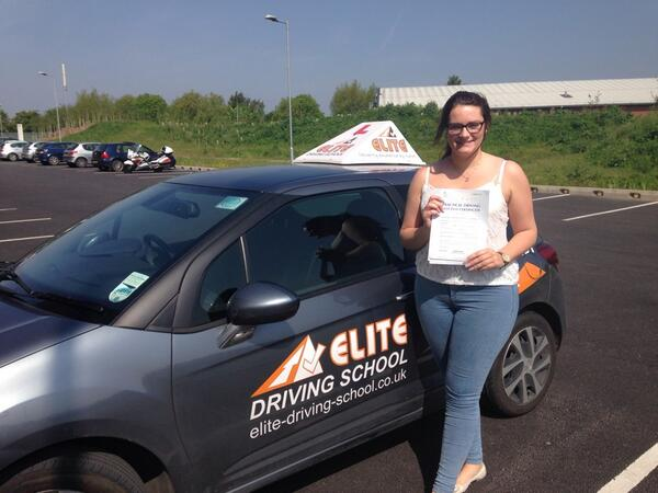This is Gemma Cundill who took her driving lessons in Hull