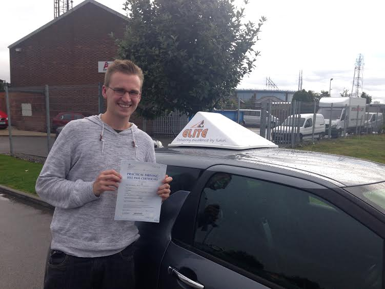 This is Joe Whittaker who took his driving lessons in York