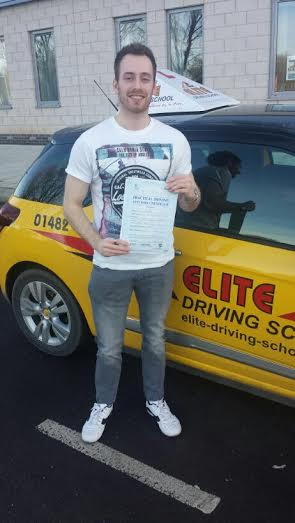 This is Liam McCloud who took his driving lessons in Hull