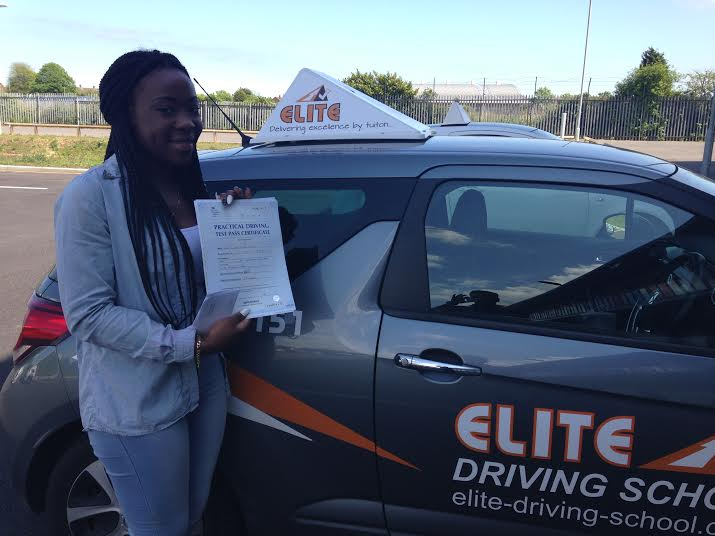 This is Rochelle Awuku who took her driving lessons in Hull