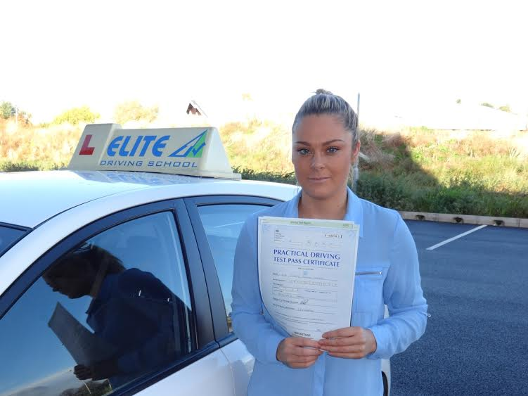 This is Stacey Carter who took her driving lessons in York
