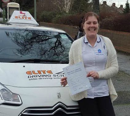 This is Ellen Waites who took her driving lessons in Hull