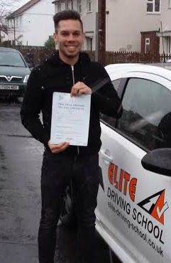 This is James Atkinson who took his driving lessons in York