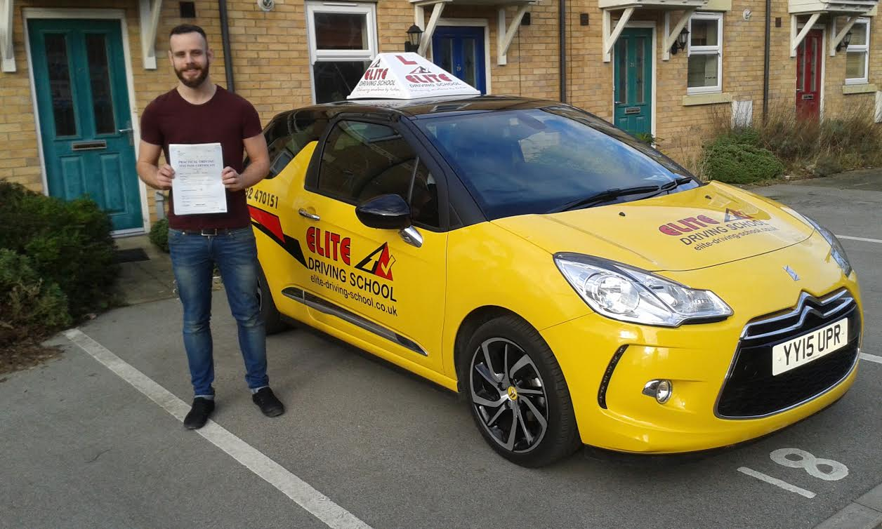 This is Jose Tevar who took his driving lessons in York