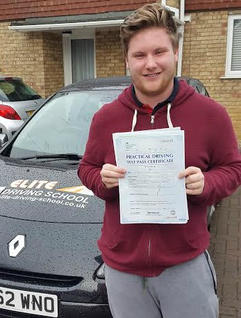 This is Michael Sudds who took his driving lessons in Hull