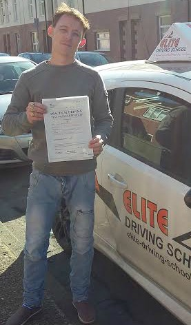 This is Paul Evans who took his driving lessons in Hull