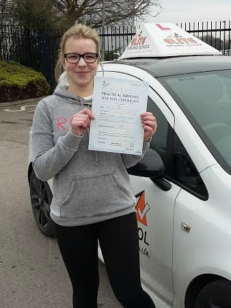 This is Rubie Walker who took her driving lessons in Hull