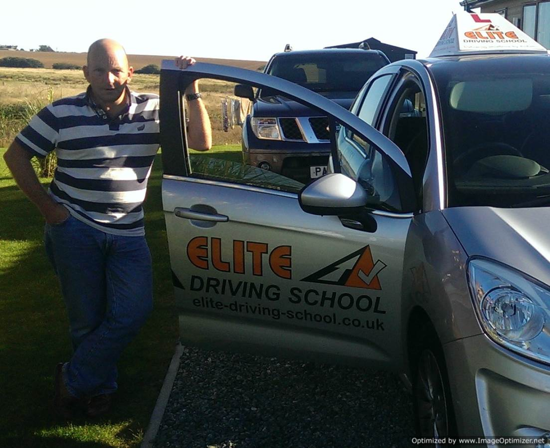 Driving lessons withernsea, Mark Yeaman