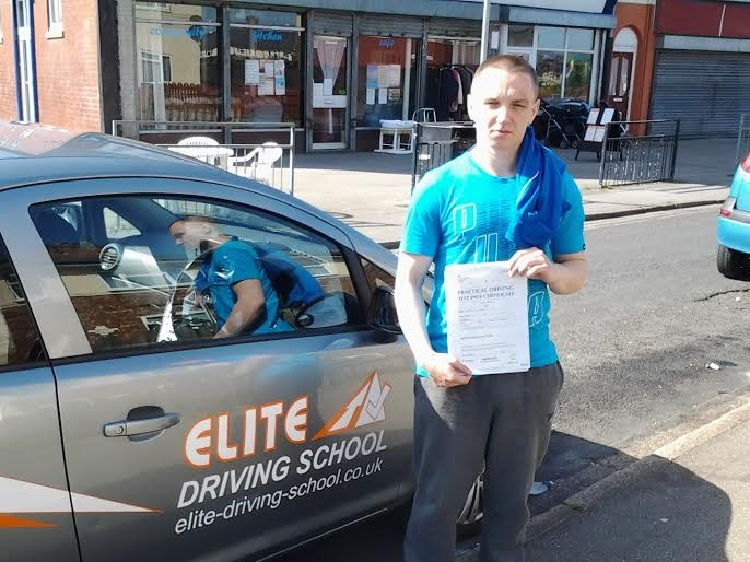 This is Kamil Sowinski who took his driving lessons in Hull