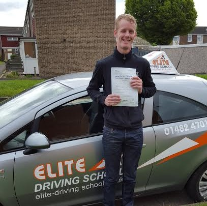 This is Ashley Jackson who took his driving lessons in Hull