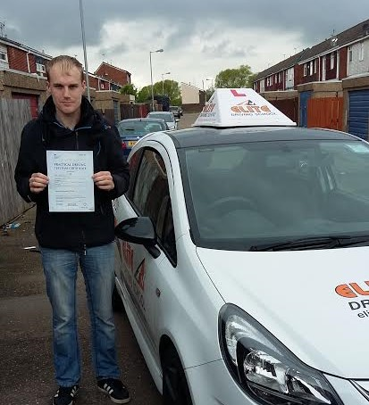 This is Adam Watson who took his driving lessons in Hull