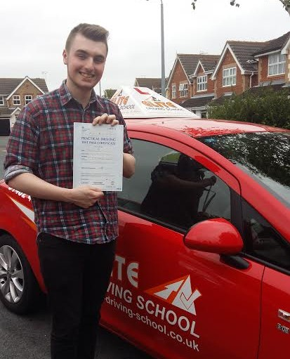 This is James Slaney who took his driving lessons in York