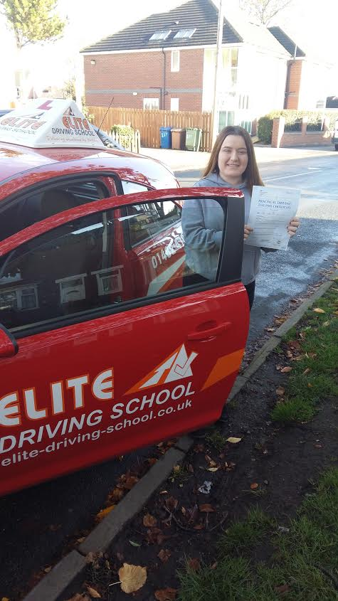 Lady Driving Lessons Hull