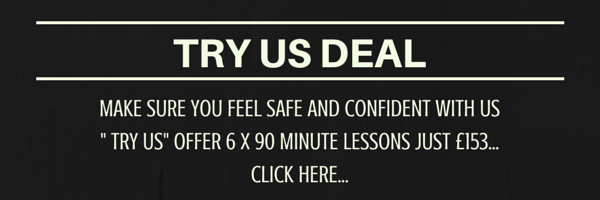 Driving lesson try us offer in Hull, York and Leeds